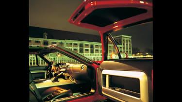 Ford GT Colorado Red - interior