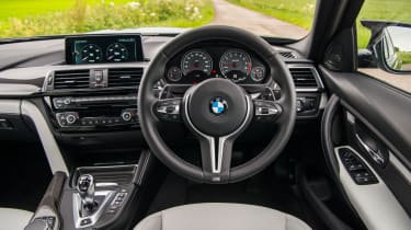 2018 model-year BMW M3 Competition Pack - Interior