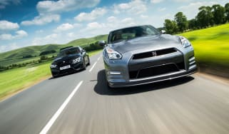 BMW M4 Competition Package v Nissan GT-R