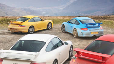 Porsche 911 GT3 group test