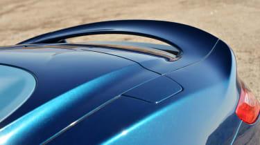Aston Martin Vanquish Volante rear spoiler