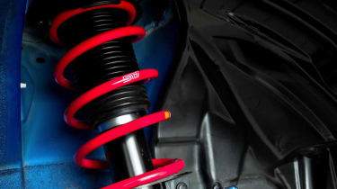 Subaru BRZ S STI suspension