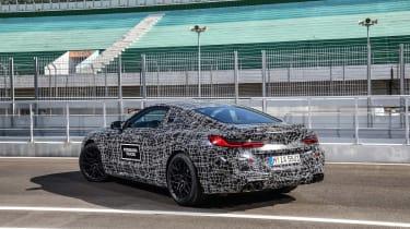 BMW M8 prototype - rear