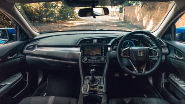 Honda Civic review - interior