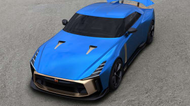 Nissan GT-R50 front