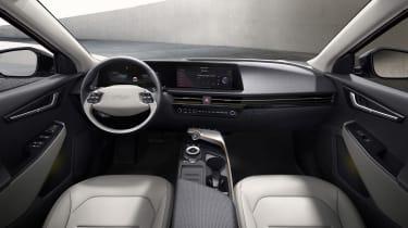 Kia EV6 revealed - interior