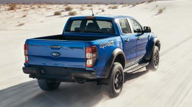 2018 Ford Ranger Raptor  – rear quarter