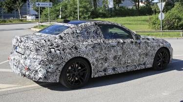 2021 BMW 2-series spy – rear quarter tall