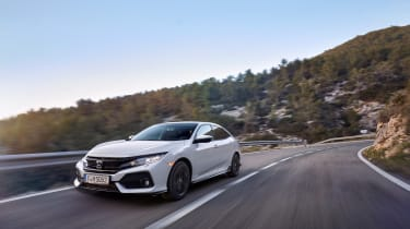 Honda Civic review - front quarter