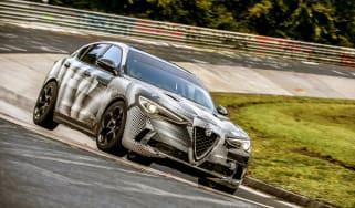 Alfa Romeo Stelvio Quadrifoglio - Nurburgring