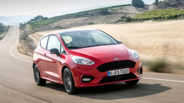 Ford Fiesta ST-Line - Driving front shot