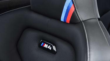 BMW M4 CS - seat