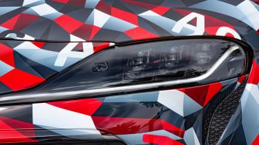 Toyota Supra proto drive - headlights