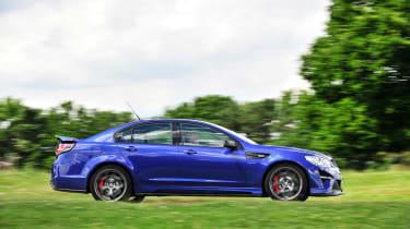 Vauxhall VXR8 GTS-R blue - UK car profile