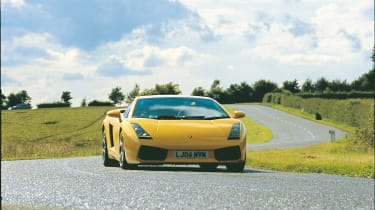 Lamborghini Gallardo - front