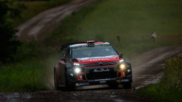 WRC round 9 - Rally Poland Citroen 2