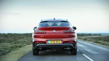 2018 BMW X4 20d drive - tail
