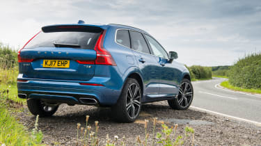 Volvo XC60 - rear parked