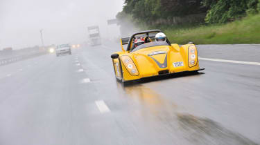 Radical SR3 SL on the Tour Britannia rain