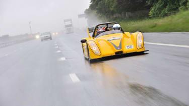 Radical SR3 SL on the Tour Britannia rain