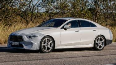 Mercedes-Benz CLS spy - side