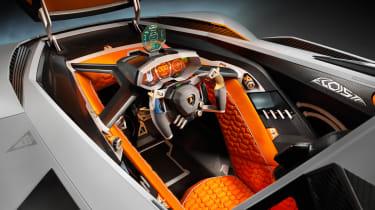 Lamborghini Egoista interior