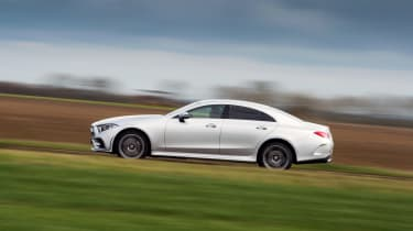 Mercedes-Benz CLS 400d side