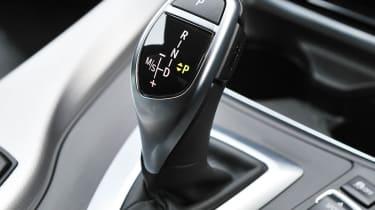 2013 BMW 330d M Sport gearstick gear selector
