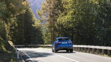 Jaguar F-Pace SVR 2021 rear 1