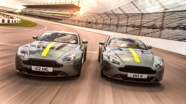 Aston Martin AMR Vantage - both models