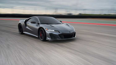 Acura NSX Type S – front quarter tracking