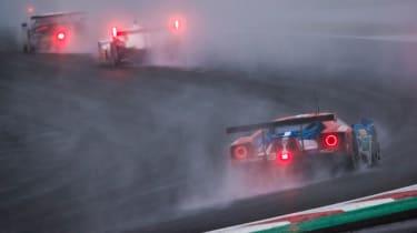 WEC R7 Fuji - wet