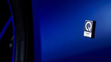 Q by Aston Martin DB11 - Q badge