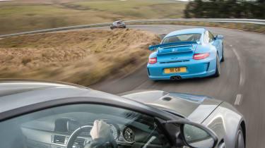 Porsche 911 GT3 vs BMW M3 vs Clio 200 Cup vs Subaru WRX STI