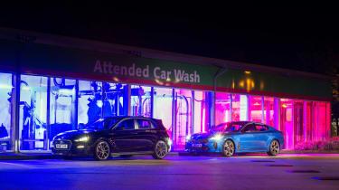 Hyundai i30 N and Kia Stinger GT S - static