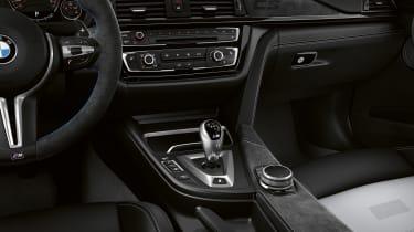 BMW M3 CS  – centre console