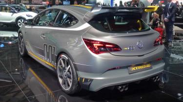 Vauxhall Astra VXR Extreme rear