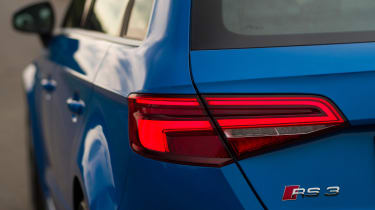 Audi RS3 Sportback - rear light closeup