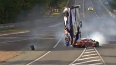 Anthony Davidson Le Mans 24 hours 2012 crash