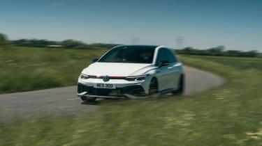 Volkswagen Golf GTI Clubsport 45 – front cornering