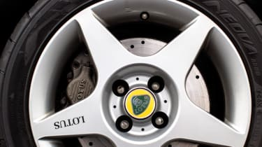 Lotus Elise Sport 135 wheels