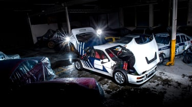 Ford RS200 - front
