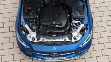 2021 Mercedes CLS53 – engine