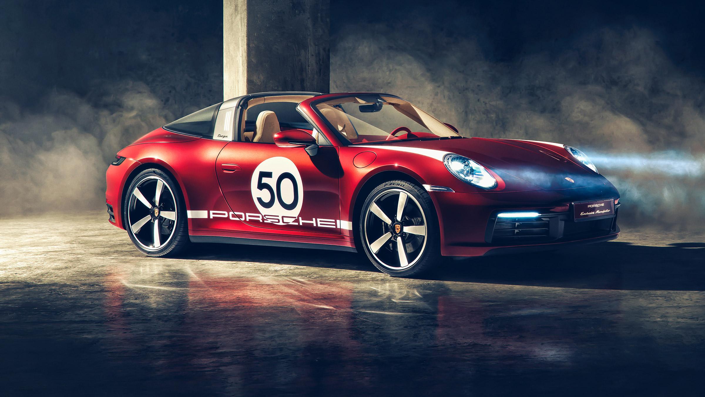 2020 Porsche 911 Targa 4s Heritage Design Edition Revealed Evo