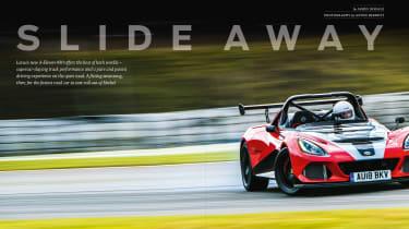 evo 248 – Lotus 3-Elevn cover shot
