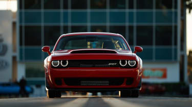 Dodge Demon front