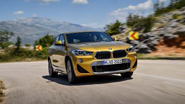 BMW X1 M Sport X - front quarter driving