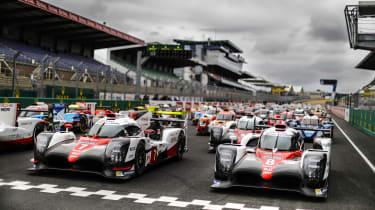 Le Mans 2017 grid