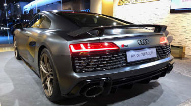 Audi R8 Decennium live - rear