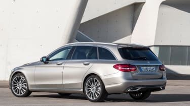 Mercedes-Benz C-class – rear quarter